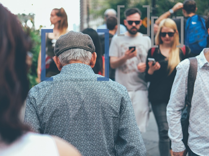 Audience Targeting - Crowded Street